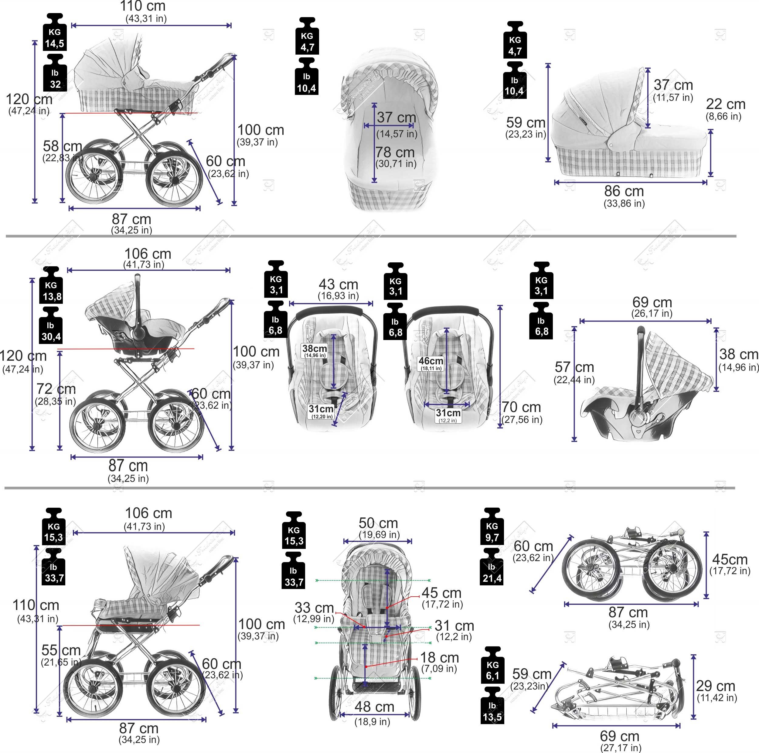 friedrich hugo ko natureline uni 3 in 1. Black Bedroom Furniture Sets. Home Design Ideas